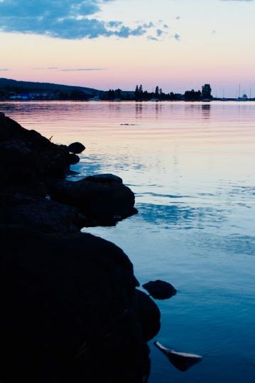 Sunrise Over Grand Marais Harbor