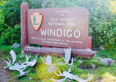 Windigo, Isle Royale