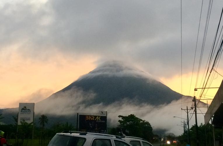 View from Villas Vista Arenal