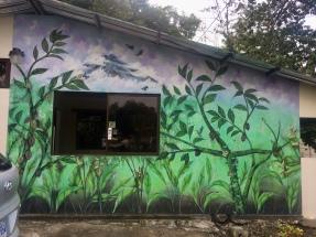 Mural at Entrance