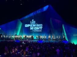 Opening Night-Eagles Team