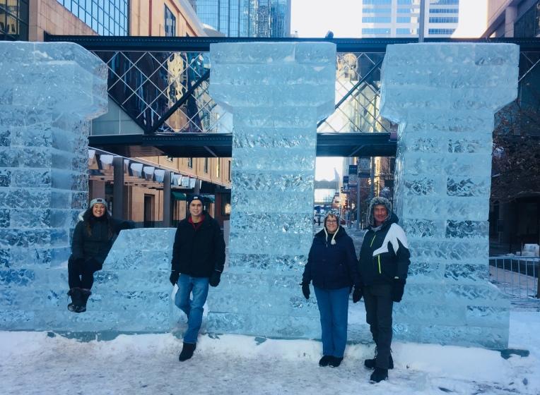 LII Ice Sculpture